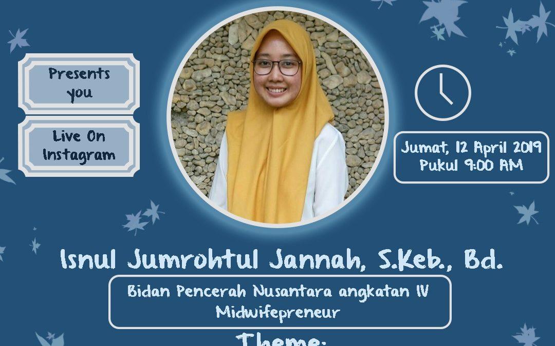 "Aveetalk Inspire:""Proud to be Midwife & Sosial Project"" with Isnul Jumrohtul Jannah S.Keb., Bd"