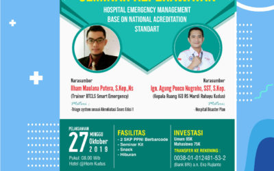 "Seminar Keperawatan ""Hospital Emergency Management Base On National Acreditation Standart"""
